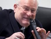arcivescovo di perugia gualtiero bassetti. foto di andrea coli feb. 2014