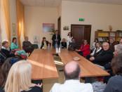 incontro con il mondo della sanità presso hospice in Perugia Asl 1 Umbria